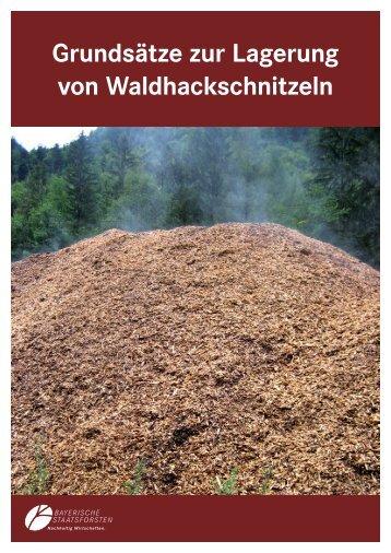 Grundsätze zur Lagerung von Waldhackschnitzeln - Bayerische ...