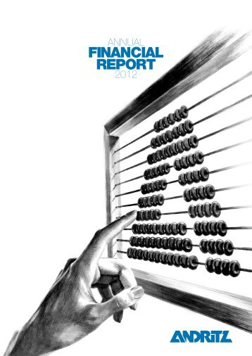 ANDRITZ annual financial report 2012