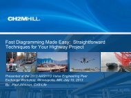 Fast Diagramming Made Easy - AASHTO - Subcommittee on Design