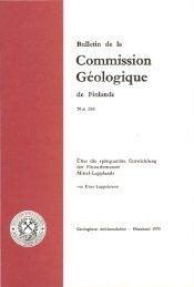 Geologique - Arkisto.gsf.fi