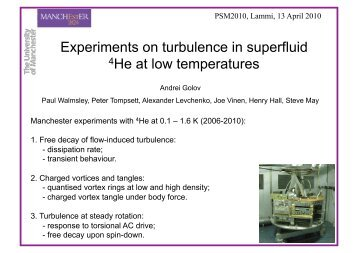 Experiments on turbulence in superfluid 4He at low temperatures
