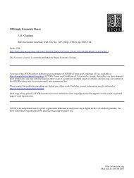 Of Empty Economic Boxes J. H. Clapham The Economic Journal ...