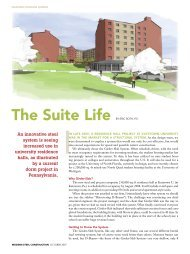 The Suite Life - Modern Steel Construction