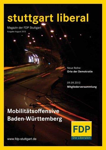 stuttgart liberal - FDP Stuttgart