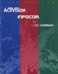 activision-92catalog - Museum of Computer Adventure Game History