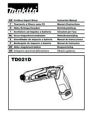 TD021D - Makita