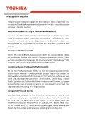 Toshiba stattet weitere Modelle der Tecra S1 Notebook-Serie mit ... - Page 2
