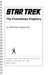 promethean-manual - Museum of Computer Adventure Game History
