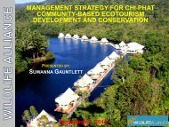 Management Strategy for Chi Phat Community-based Ecotourism ...