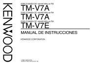 TM-V7E TM-V7A TM-V7A
