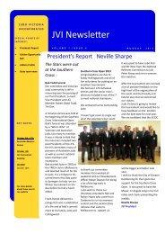 JVI Newsletter