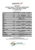 2013 speedo nsw state age 10 & u – 12 years championships - Page 5