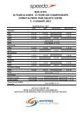 2013 speedo nsw state age 10 & u – 12 years championships - Page 6