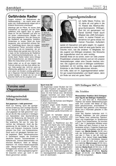Ps Ab 2013 Kw 27 Vereine Pdf Stadt Ettlingen