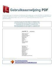 Gebruiksaanwijzing AEG-ELECTROLUX VAMPYRTC375.0