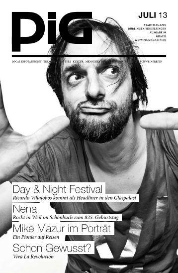 Day & Night Festival Nena Mike Mazur im Porträt ... - PIGmagazin