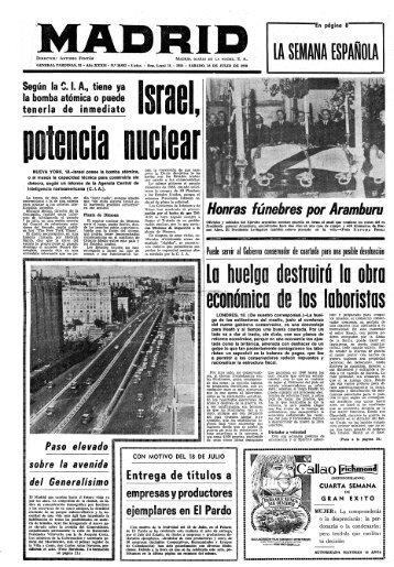 Madrid 19700718 - Home. Fundación Diario Madrid
