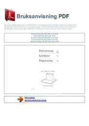 Instruktionsbok HUSQVARNA QC 621K - BRUKSANVISNING PDF