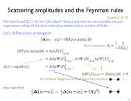 Scattering amplitudes and the Feynman rules