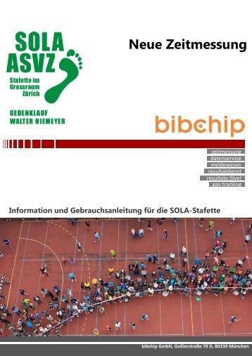 Information Zeitmessung - SOLA