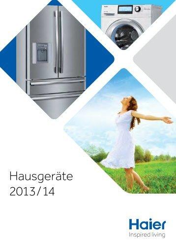 Hausgeräte 2013 / 14 - Haier