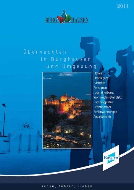 Übernachten in Burghausen und Umgebung - längste Burg der Welt