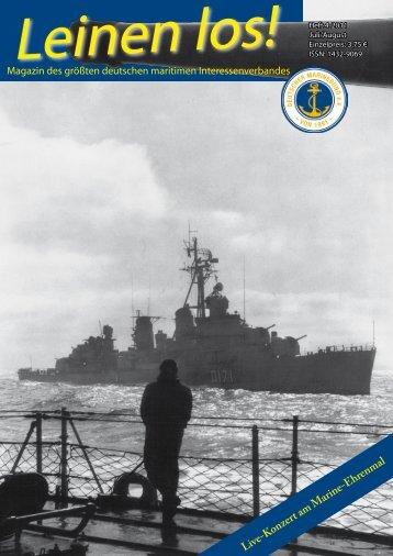 Auszug der Ausgabe Juli / August 2011 - Deutscher Marinebund