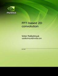 FFT-based 2D convolution - Nvidia