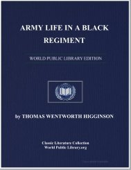 ARMY LIFE IN A BLACK REGIMENT - World eBook Library