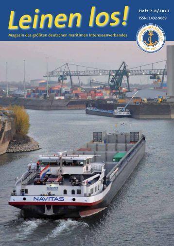 Auszug Ausgabe Juli / August 2013 - Deutscher Marinebund