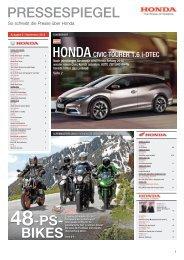 PRESSESPIEGEL 48-PS- BIKES - Honda