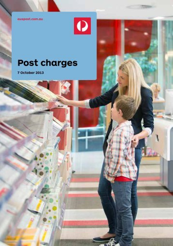 Post Charges Booklet - MS11 - Australia Post