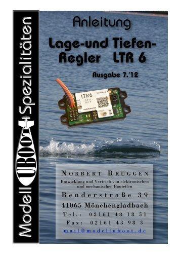 Anleitung als PDF - Modell-Uboot-Spezialitäten