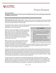 (Page 1 of 4) J.D. Power Reports: Although Overall ... - Dealer