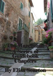 The Maremma: A Series of Guidebook Chapters By Elisa ... - Labsome