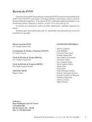Revista do INTO - BVS Ministério da Saúde