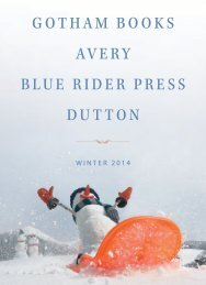gotham books avery blue rider press dutton - Bookseller Services ...