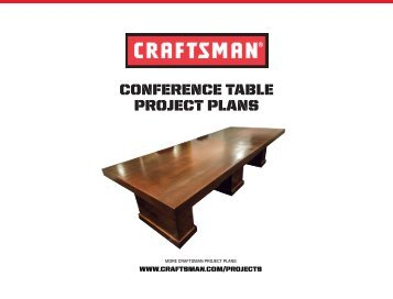 Conference Table Project Plans