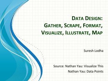 DATA DESIGN: GATHER, SCRAPE, FORMAT,