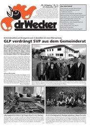GLP verdrängt SVP aus dem Gemeinderat - DigiBern