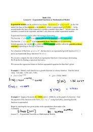 Day 7 - UH Department of Mathematics