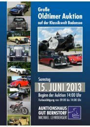 PDF Download - Auktionshaus Gut Bernstorf