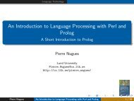 An Introduction to Language Processing with Perl and Prolog - A ...