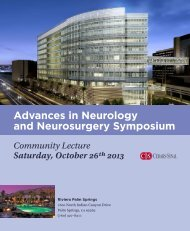 Advances in Neurology and Neurosurgery Symposium - Cedars-Sinai