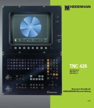 TNC 426 - heidenhain