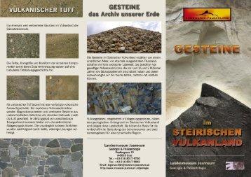 Gesteine im steirischen Vulkanland