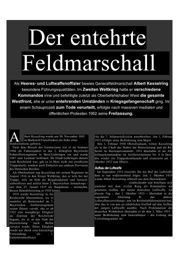 Als Heeres- und Luftwaffenoffizier bewies ... - Deutschelobby