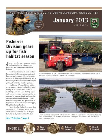 January 2013 Newsletter - Kentucky Department of Fish and Wildlife ...