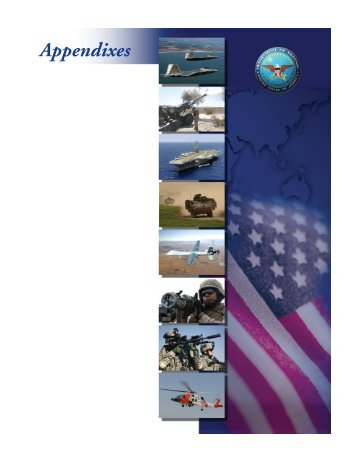 Appendixes - Office of the Under Secretary of Defense (Comptroller)