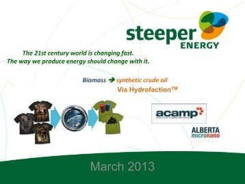 Steeper Energy Aps - Acamp